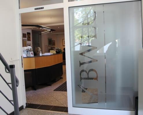 BWLC - Niederkassel - Eingang