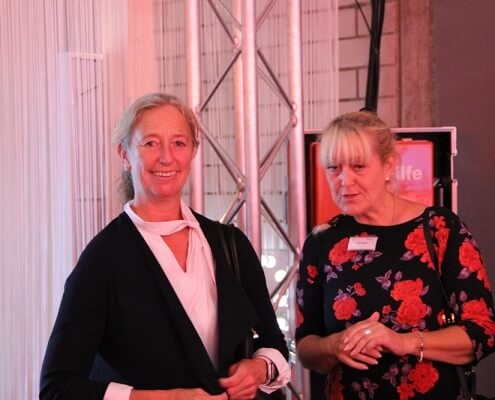 Katharina Winand und Karin Kinnart